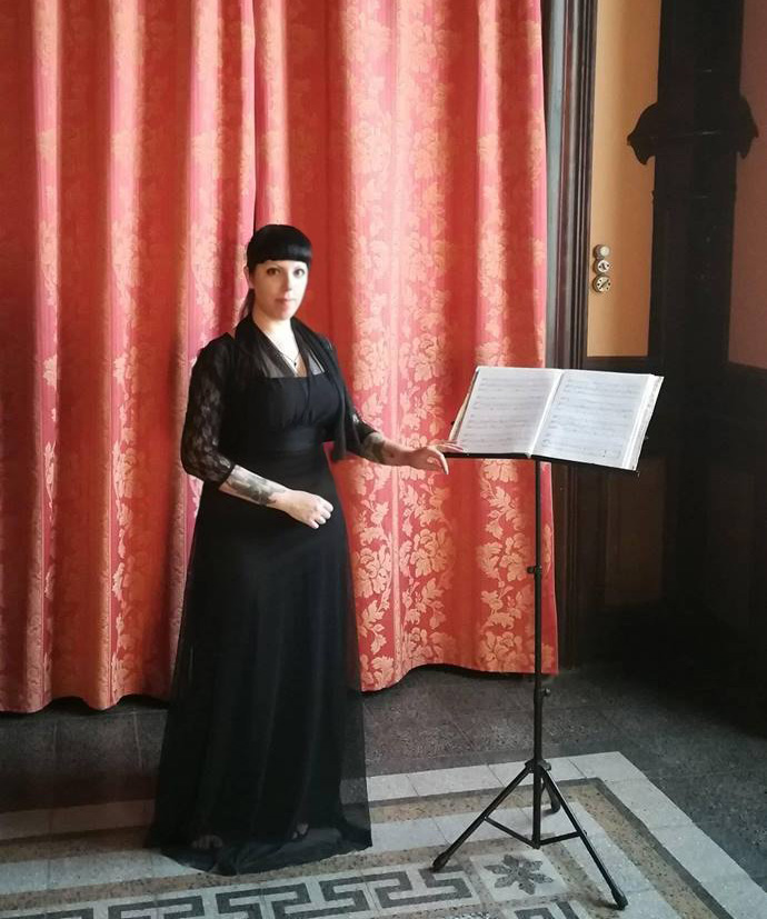 canto cantante matrimonio soprano