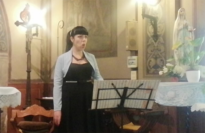 cristina verderio cantante soprano matrimonio