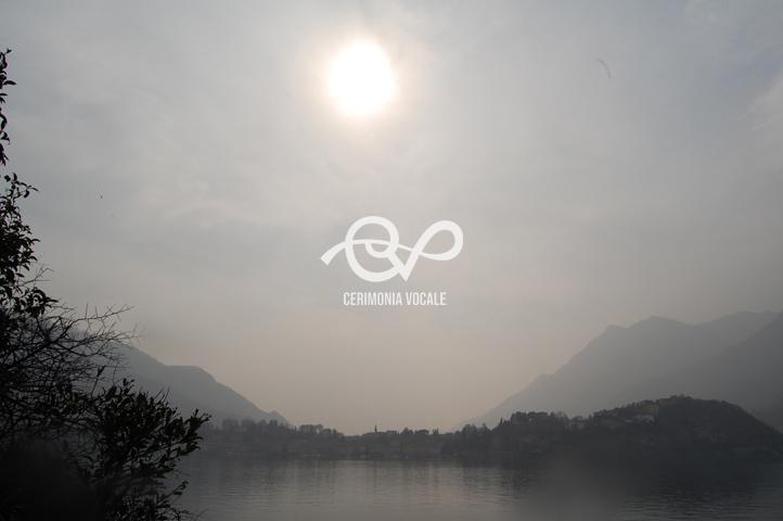 sole sul lago di lecco