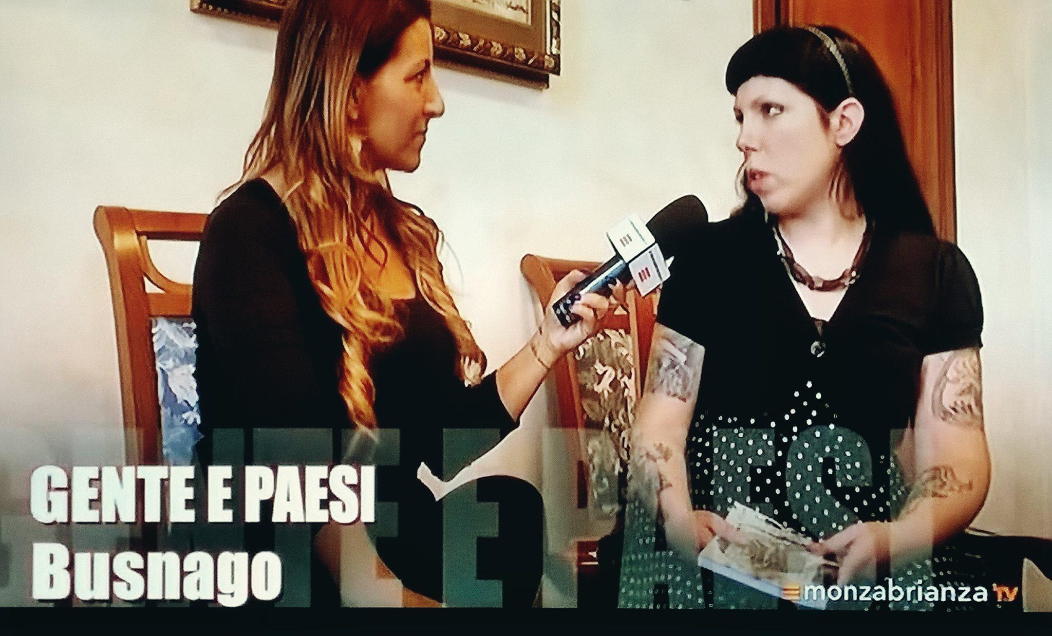 fotografia intervista a Cristina Verderio su monza e brianza tv
