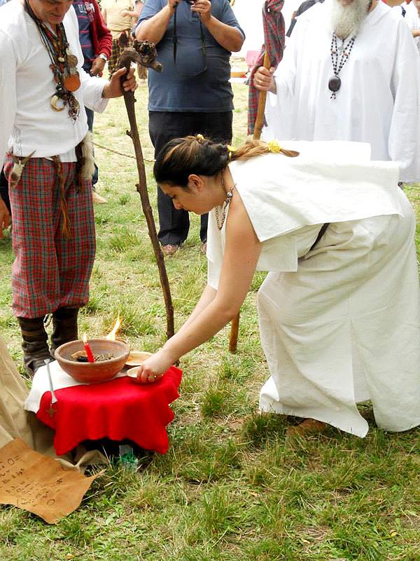 elemento fuoco nel matrimonio celtico