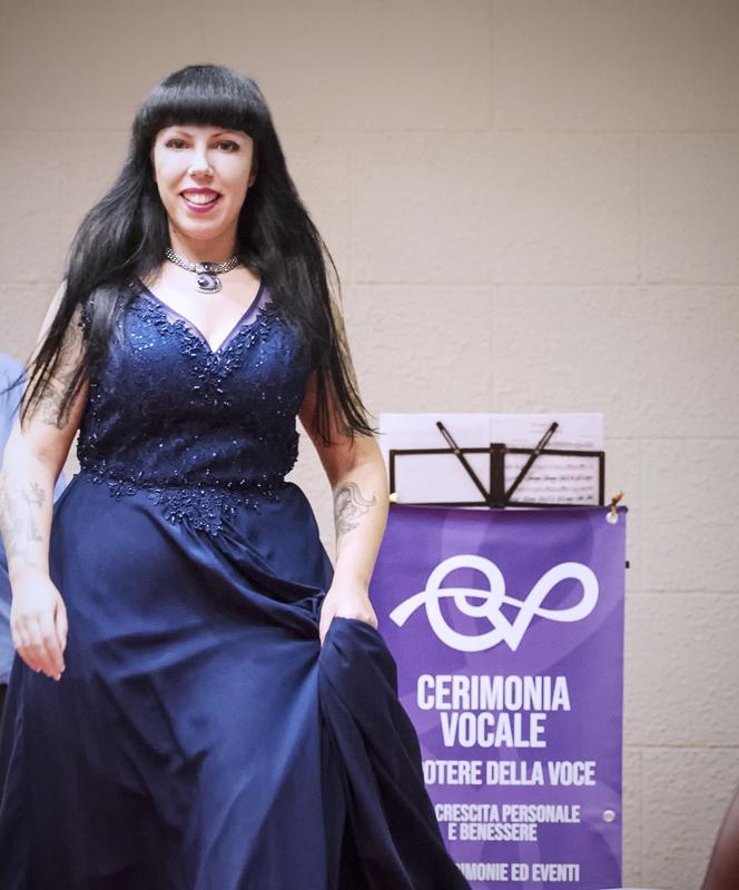 soprano cantante matrimonio cerimonia