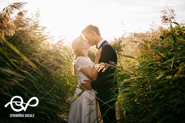 matrimonio green nella natura