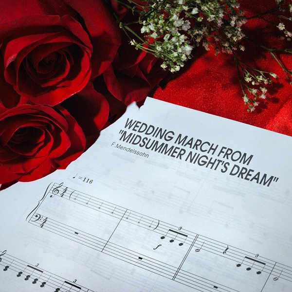 marcia nuziale spartito musica per matrimonio ingresso sposa