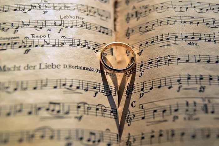 musica per matrimonio amore brani preferiti spartiti musicali