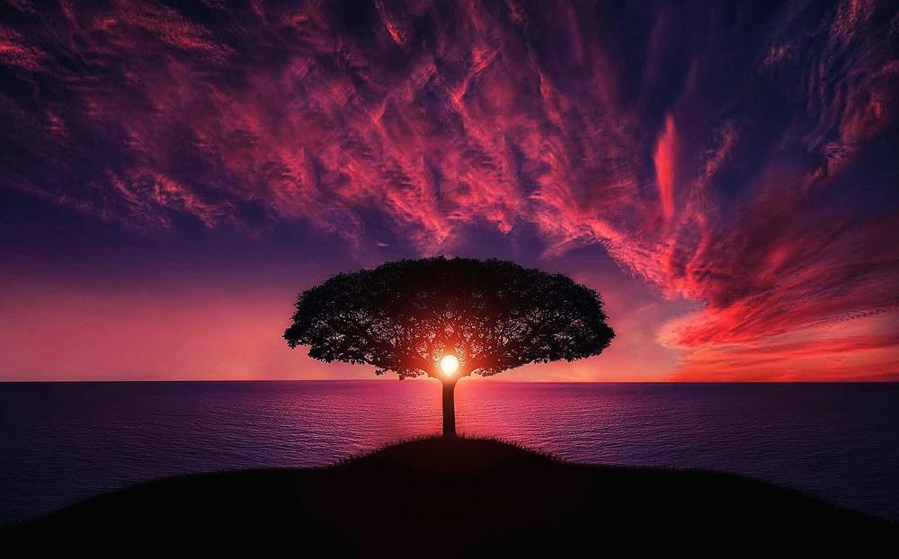 raggiungere silenzio interiore paesaggio
