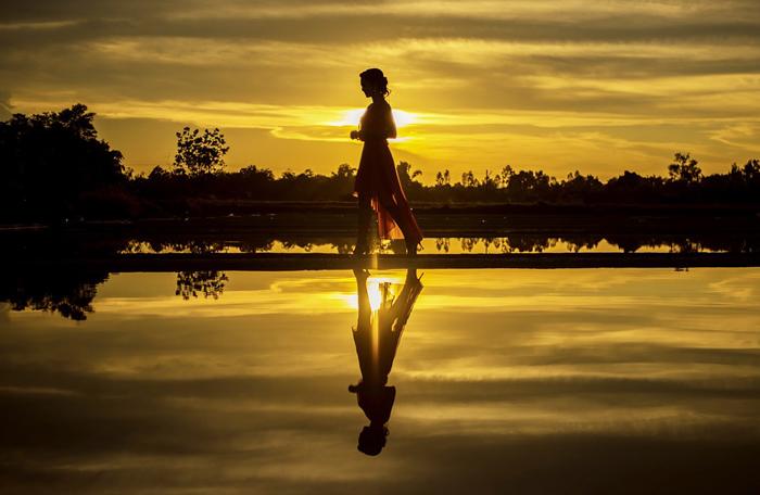 meditazione sul fiume