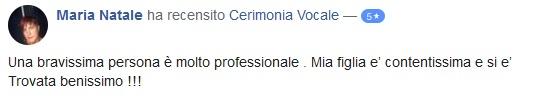 recensione cerimonia vocale life coach