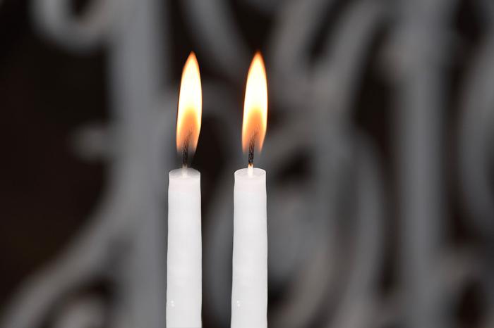 candele rito della luce
