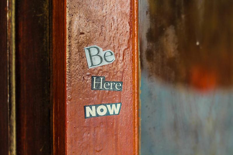 consapevolezza significato, essere nel momento presente