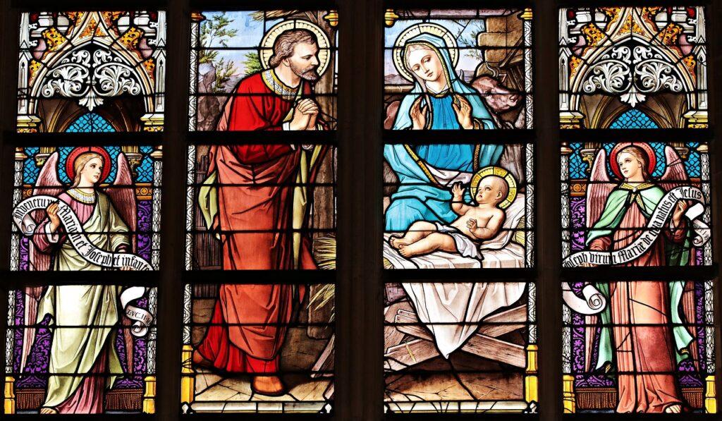 scaletta canti matrimonio vetrata chiesa